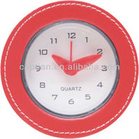 leather wall clock low price good quality