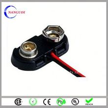 nangudi custom made wholesale 9v battery snap clip