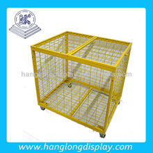 Metal painted wire basketball cage