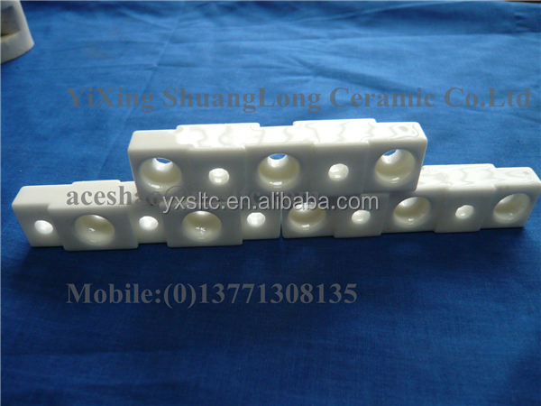 Al2o3 crucible for melting furnace alumina ceramic plate precision aluminium oxide ceramic
