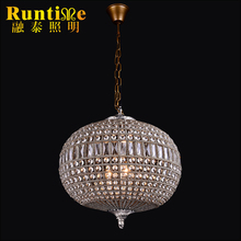 Hot Modern Pendant Crystal Lamp Hotel Crystal Ball Pendant Lamp RT1348-4