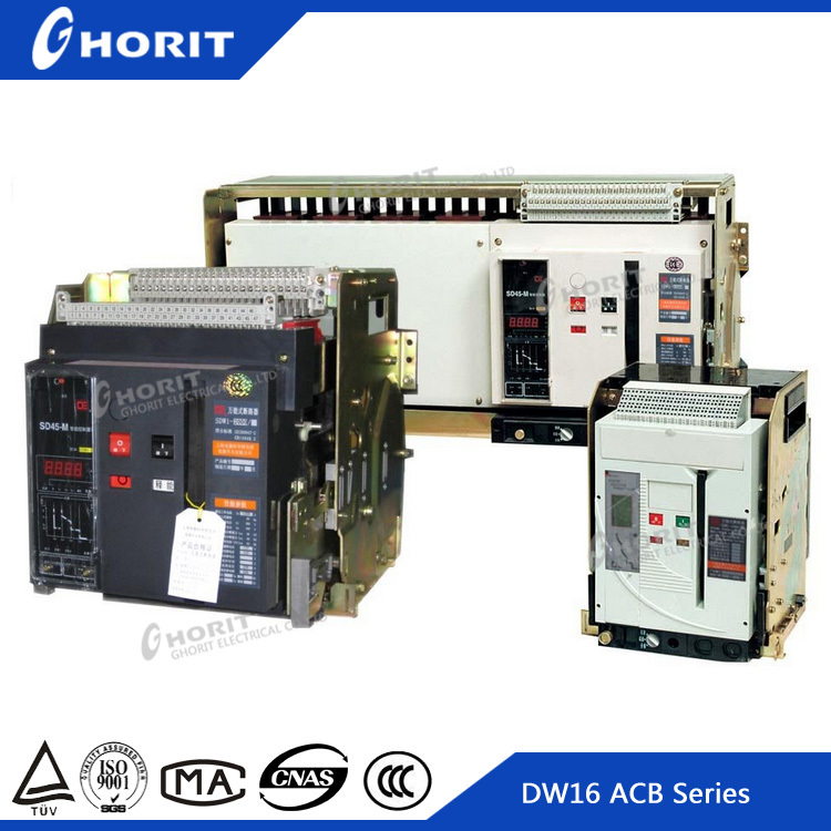 CE Indoor DC DW45 4 Pole 5000A Air Circuit Breaker