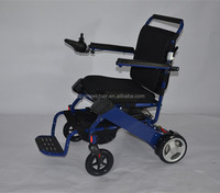 seat cover removed folding aluminum wheelchair up to CE& FDA standard