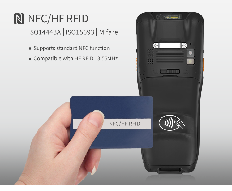 4g wifi android 1d 2d qr fedex dhl logistic stocktaking inventory handheld pda barcode scanner
