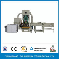 Aluminum Foil Food Container Making Machine Production Line Low Price