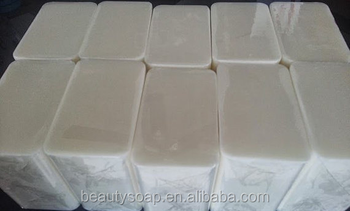 2017 Hot Sell! OEM Factory Manufacture 10 lb WHITE MELT AND POUR SOAP Glycerin Base 100% All Natural Bulk Wholesale