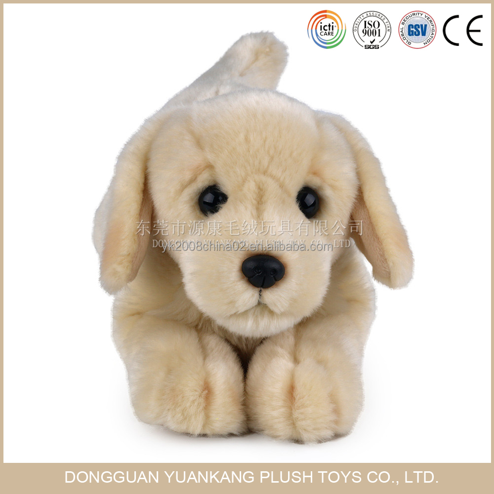 custom stuffed plush dog labrador puppies toys for sale