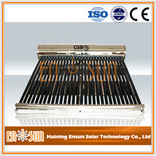 Excellent Material unpressurized stainless steel solar water heating