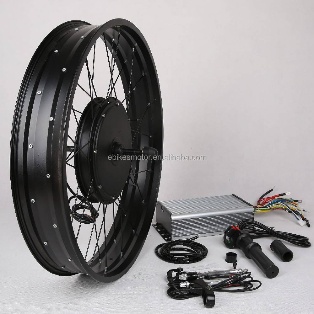3000w super power hub motor electric bicycle conversion kit