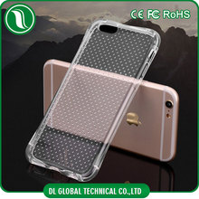 Super ultra thin crystal transparency cover for iphone 5 clear air bag protective case