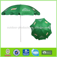 Eco-friendly Advertising umbrella 8 steel ribs meja payung