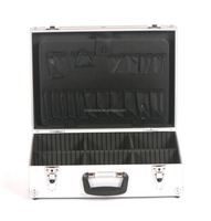 Metal Heavy Duty aluminum tool boxes with wheels aluminum tool case