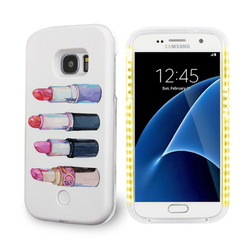 lipstick 3d printer manufacturer china LED lumee pc phone case for samsung galaxy s7 s4