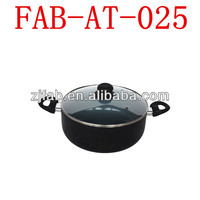Color Ceramic Cooking Pot With Silicon Ear