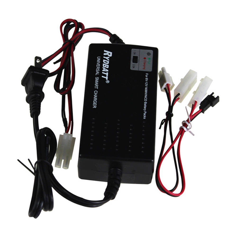 AC 100 - 240V Universal Smart charger for NiMH /NiCd battery packs