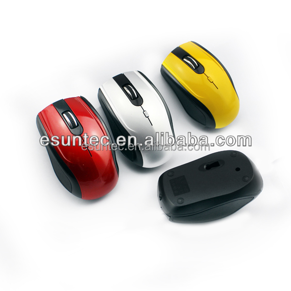 3d mini wireless mouse, Nano receiver 2.4ghz wireless mouse with colorful apperance, MW-022
