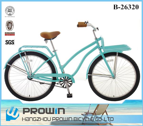 26 Quot Green Beach Cruiser Bike Retro Dutch Ladies Bike City Bikes For Sale Pw B26320 Buy Beach