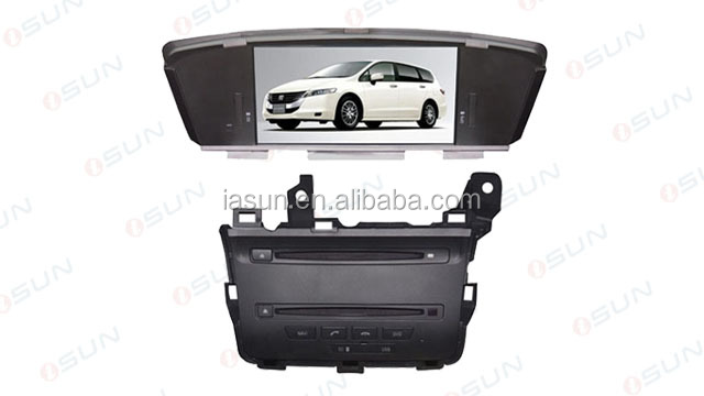 "iSun best price 8"" touch screen car auido for H-onda odyssey 2010 gps navigation car"