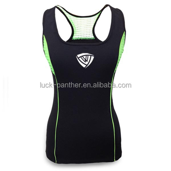 sleeveless breathable cool custom printed women rash guard