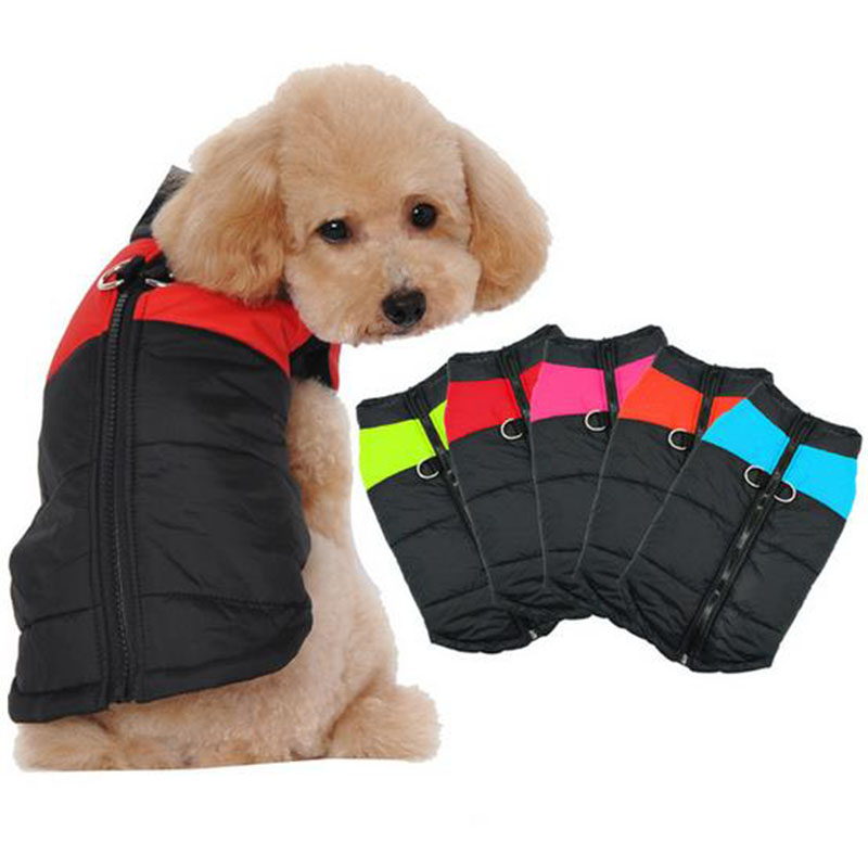 Pet clothes dog coats ,T0C4F polyester winter clothes for dog