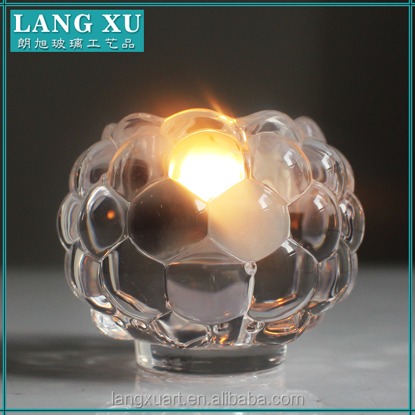 LX-Z073 Crystal Ball Beaded Votive Candle Holders for tealight