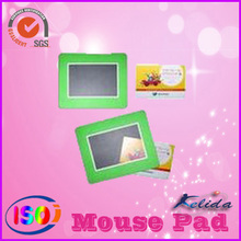 mouse pad with photo insert