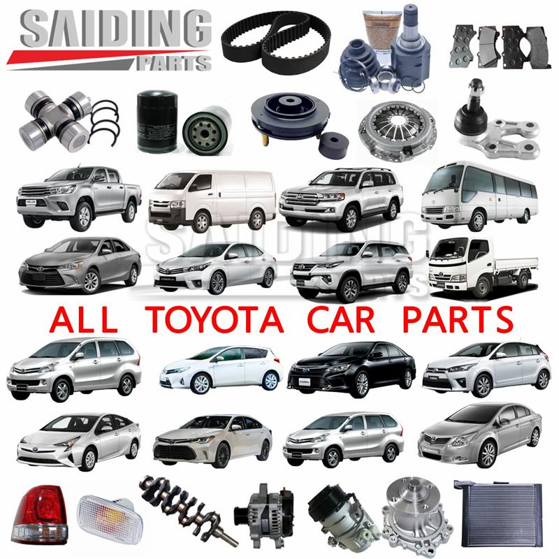 auto parts for Toyota spare parts engine body electrical chassis