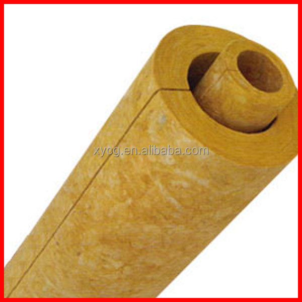 Heat Insulation Rock Wool Pipe Buy Rock Wool Pipe