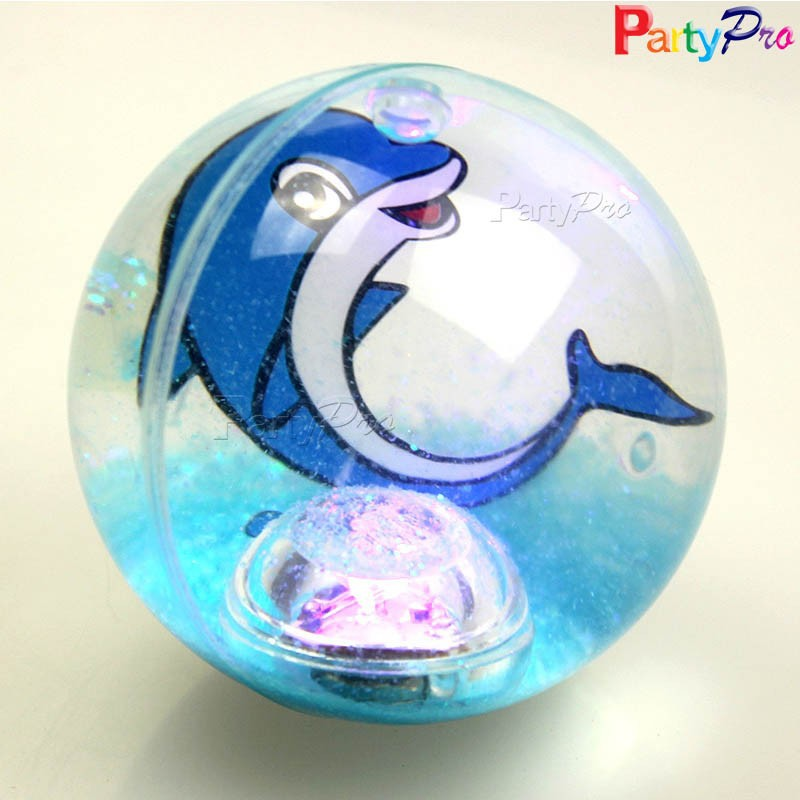 hot new products for 2015 alibaba China supplier TPU LED bouncing glitter ball