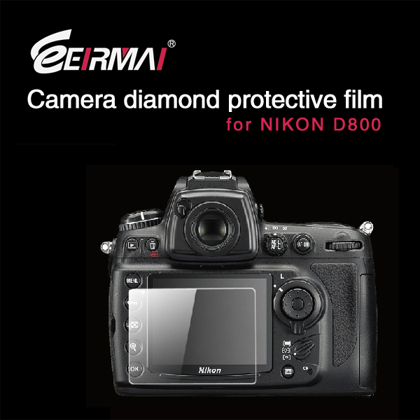 EIRMAI digital cameras screen protection film for nikon D800 Screen protector camera for nikon D800 oem/odm (High Clear)