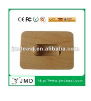 telescopic bussine card wooden usb flash drive