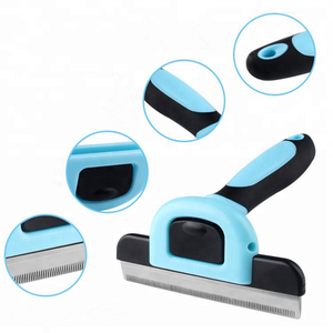 #1 Seller Pet grooming brush Dog Deshedding Comb Professional Deshedding Tool For Dogs And Cats