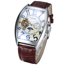 Sewor 577 Best Selling Self Winding Automatic Mechanical Tourbillon Luxury Brand Watch Fashion Hour Clock Watch Men