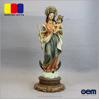 Cheap Price Custom Polyresin Lady And