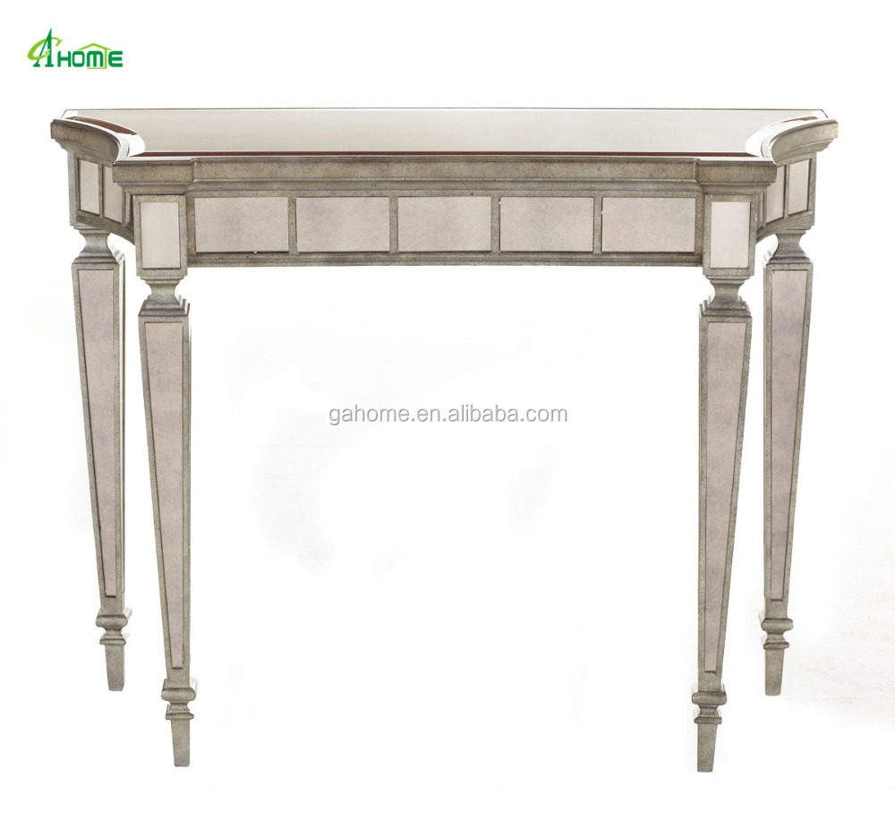 gold mirrored living room furniture console tables buy mirrored