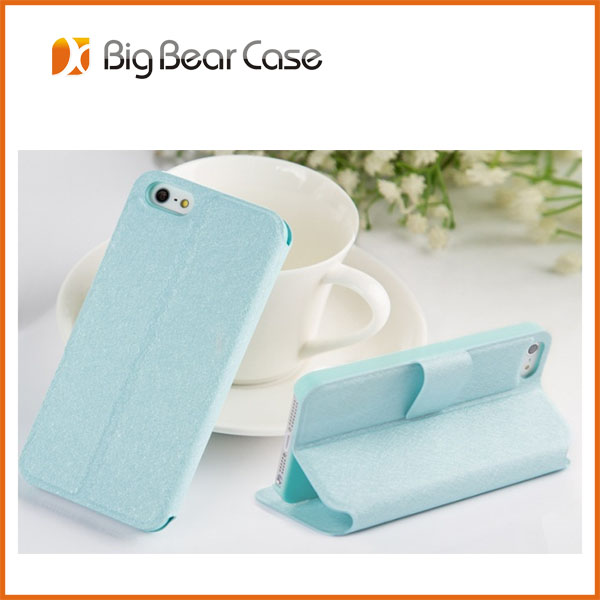 Factory wallet flip wholesale for iphone 5 leather case