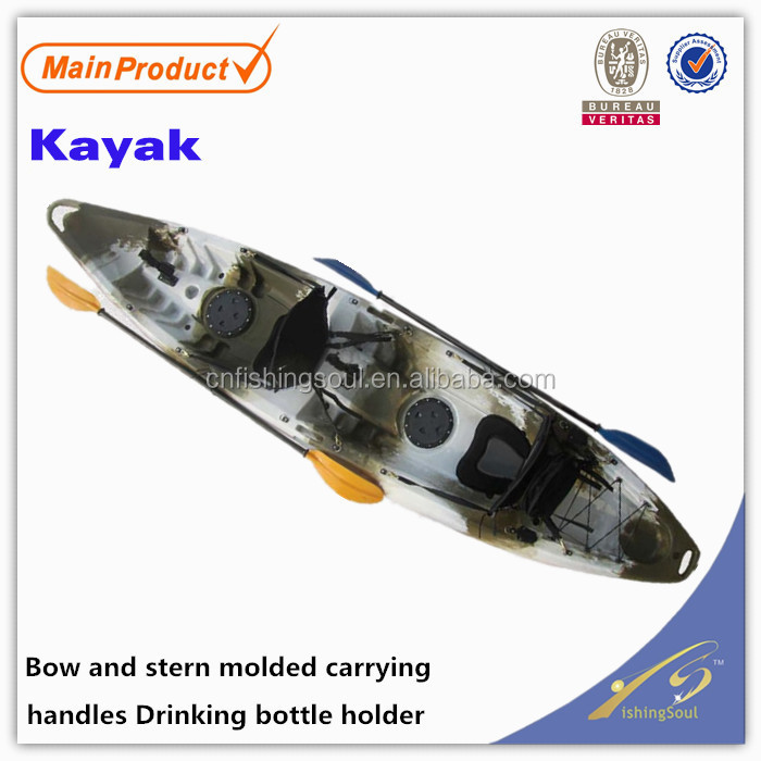 FSBT031 B.Yak, kayak boat with sail high speed kayak boats for two person