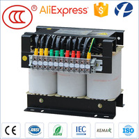 Customized Available 415V To 230V 100KVA H-class Insulation Dry-type Transformer