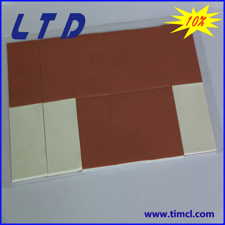 1mm*200mm*400mm high quality silicone conductive thermal pad with 1w/m-<strong>k</strong>