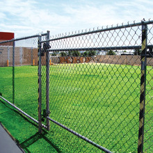 high quality pvc coated chain link fence made in china