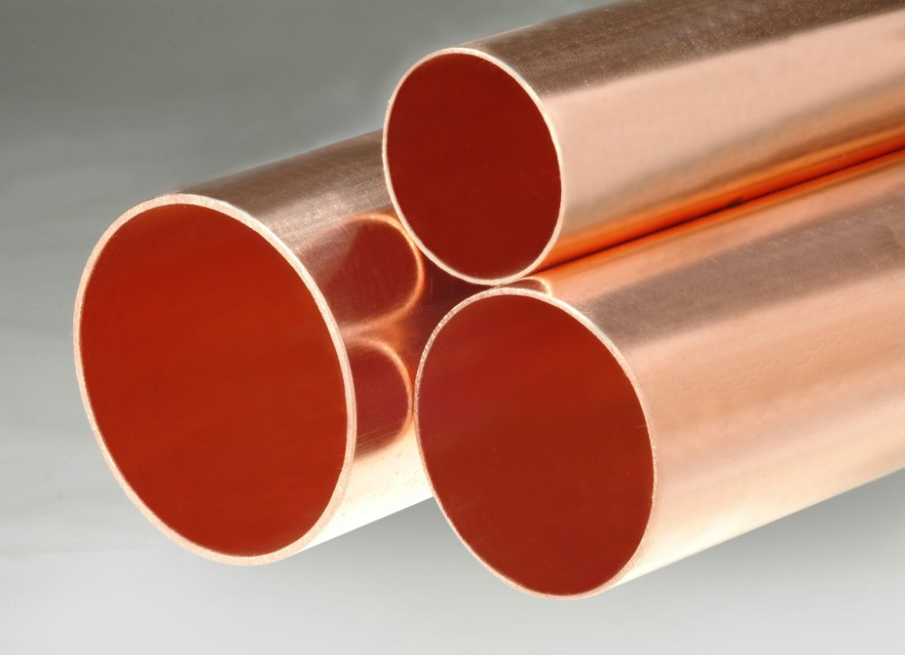 Bronze tube copper pipe best price copper tube tu2 c1020t for Copper pipe cost