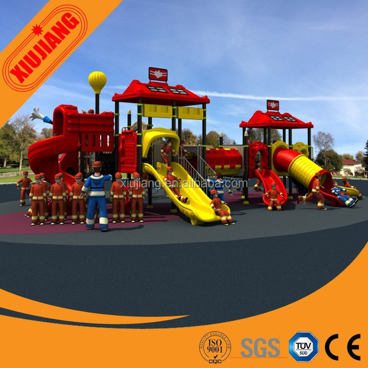 Children's Plastic Outdoor Play Ground For Garden