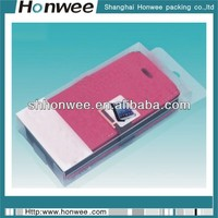 2014 colorful transparent mobile phone packaging case
