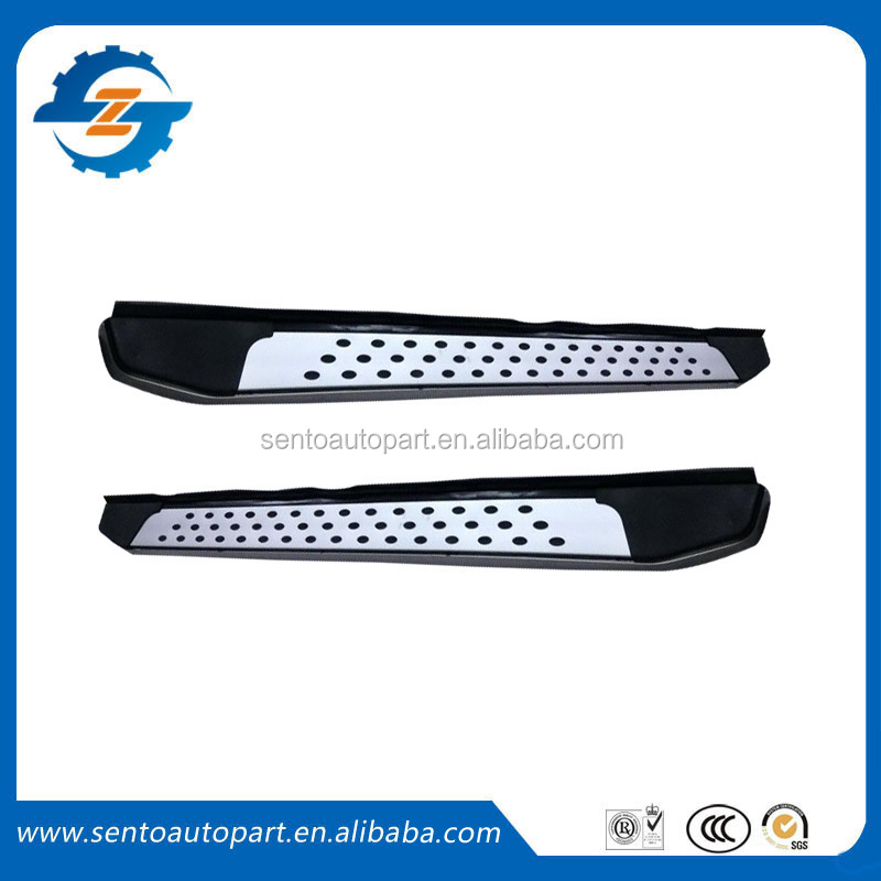 Many designs Universal fit Side step, Running board, side bar for all cars