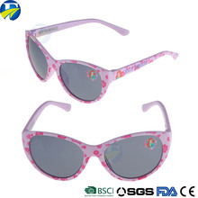FJ brand 2017 printable custom logo colorful bulk fashion kid sunglasses