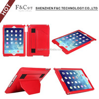 Back cover phone case with stand function bumper case for ipad 6