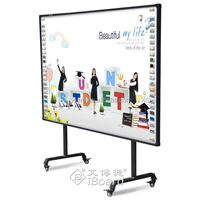 Smart white board/interactive whiteboard with slide projector school furniture