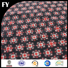 Latest Custom Digital Print Crepe Fabric 100% Polyester Print Design Textiles for Women Scarf