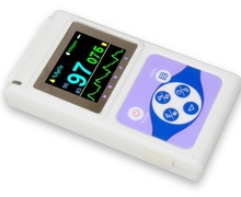 CE and FDA Approved Home Use USB Connected and PC Based Handheld Pulse Oximeter