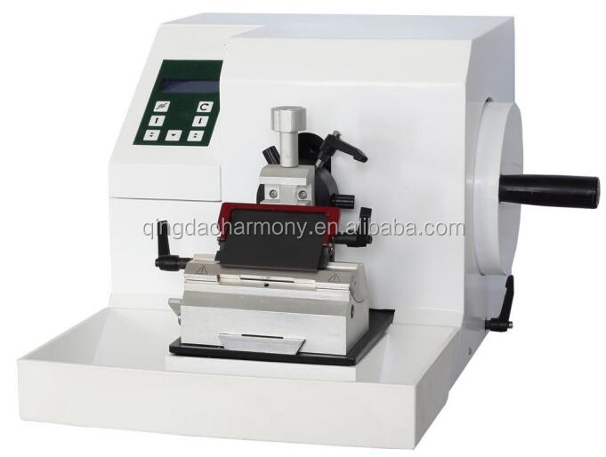Lab and hospital histopathology tissue Semi-automatic microtome